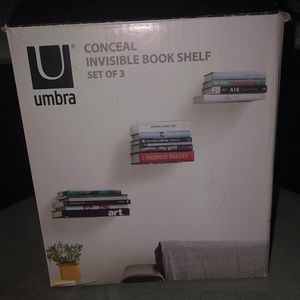 NEVER USED Invisible Shelves